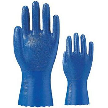 在庫処分特価 耐油セイバー [10双入り] 1700 ゴム手袋 裏布あり