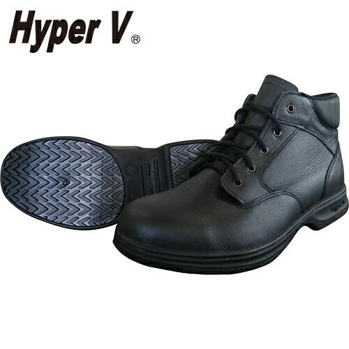 ハイパーV #9100 JIS規格認定安全靴(ヒモ) ミドルカット  紐靴 JIS規格