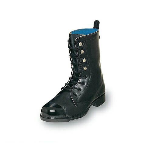 外鋼板長編靴 O511P 紐靴 JIS規格