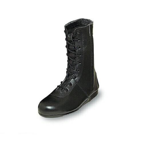 消防作業靴(合成先芯) 5801 紐靴 先芯あり