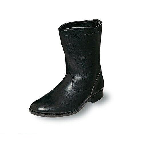 消防作業靴(合成先芯) M312 紐なし 先芯あり