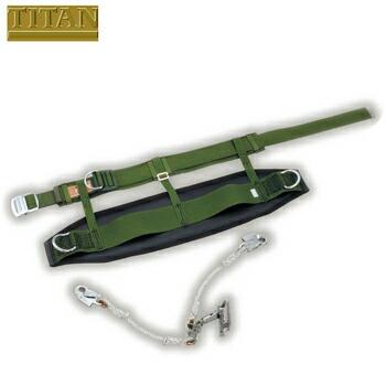 傾斜面用ハーネス SRベルト本体&ダブルフック付きグリップセット SR-DH+WHG 高所作業 安全ベルト