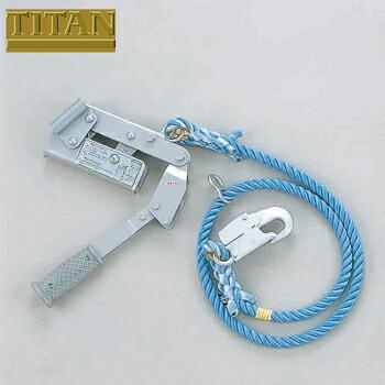 水平親綱用緊張器 ロープタイトナー 本体のみ 台付ロープ付き RT-DH RT-DH 高所作業 安全用品