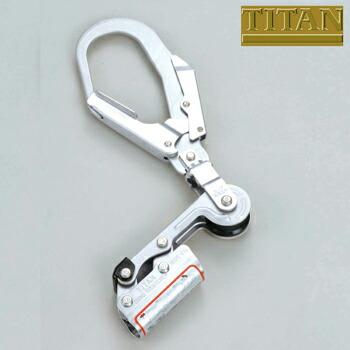 水平親綱用緊張器 ハンドタイトナー 本体のみ 台付ロープ付き HT-DH HT-DH 高所作業 安全用品