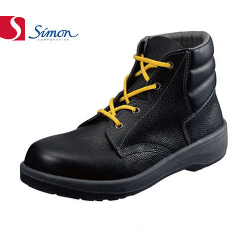 7522黒静電靴 1122630 紐靴 JIS規格