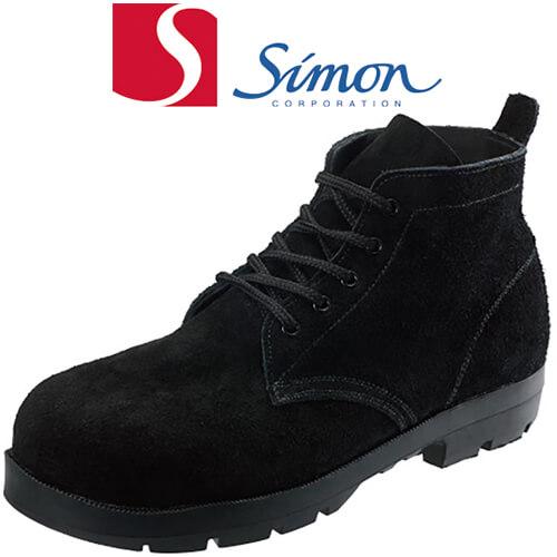 HI22黒床耐熱 2189890 紐靴 JIS規格