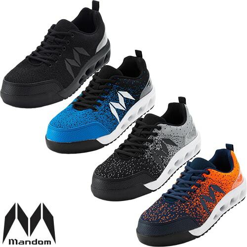 マンダムニット #001 紐靴 スニーカータイプ