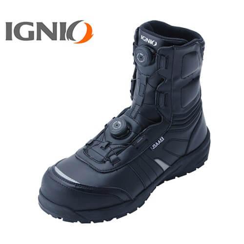 プロスニーカー ブーツタイプ IGS1067 ダイヤル式 JSAA規格 プロテクティブスニーカー