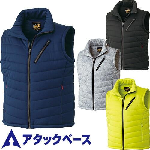防風中綿ストレッチベスト 320-0 作業着 防寒 作業服