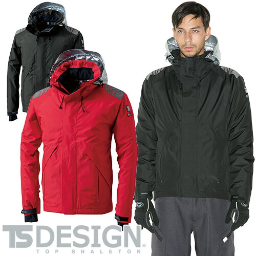 TS Design メガヒートES 防水防寒ジャケット 18246