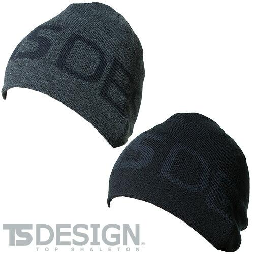 リバーシブルニット帽 842916 防寒 あたたかい 冬用