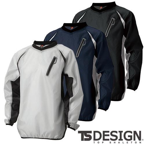 ウインドブレーカーシャツ 84335 作業着 防寒 作業服