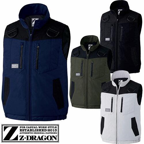 Z-DRAGON 防寒ベスト 78040 作業着 防寒 作業服