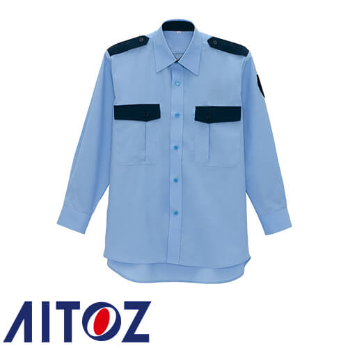長袖シャツ AZ-67035 作業着 通年 秋冬