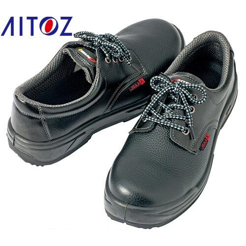 セーフティシューズ(ウレタン+ゴム短靴ヒモ) AZ-59825 紐靴 JSAA規格 プロテクティブスニーカー