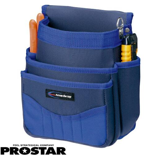 電工袋 3段 PS-03R 腰袋 合成繊維 釘袋