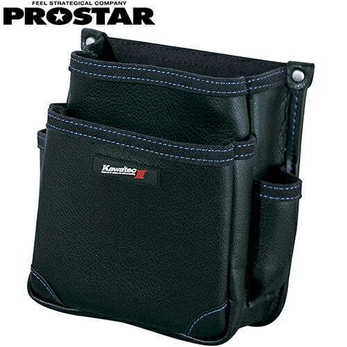 電工用腰袋2段 KW-22B 腰袋 合成繊維 釘袋