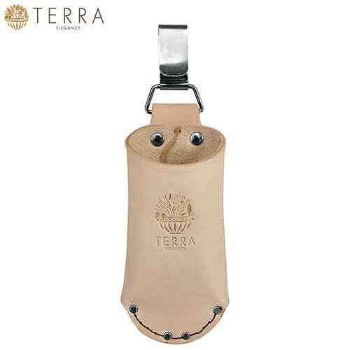 剪定鋏ケース 筒形ミニ カン付 TR-08 腰袋 レザー 釘袋