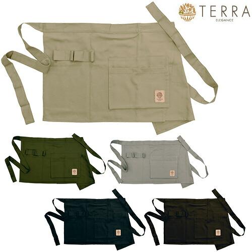 ガーデンエプロン ショート TR-100B、TR-100K、TR-100G、TR-100BK、TR-100CO