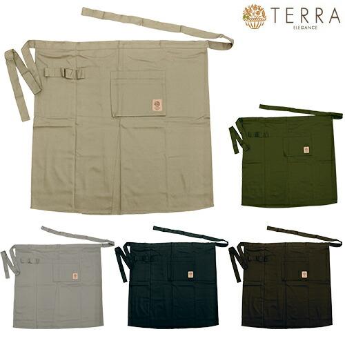 ガーデンエプロン ロング TR-200B、TR-200K、TR-200G、TR-200BK、TR-200CO