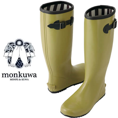 アグリロングブーツ 019マスタード MK36140 長靴 園芸 かわいい 農作業 野良着