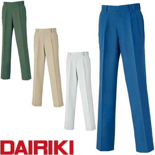 DAIRIKI ダイリキ D1-38005 スラックス 38005 作業着 通年 秋冬