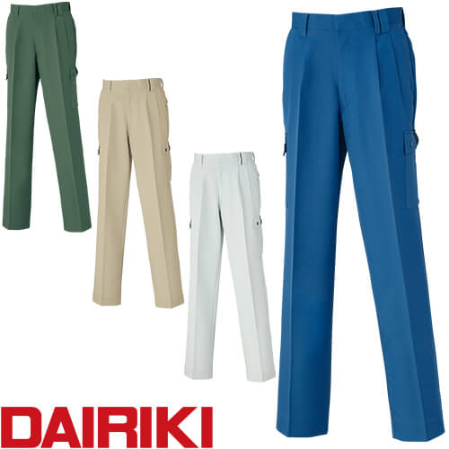 DAIRIKI ダイリキ D1-38006 カーゴパンツ 38006 作業着 通年 秋冬