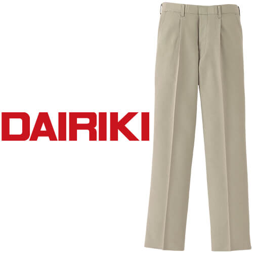 DAIRIKI ダイリキ スラックス 36635 作業着 通年 秋冬