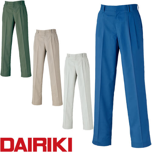 DAIRIKI ダイリキ D1-18005 スラックス 18005 作業着 春夏
