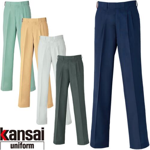 kansai uniform カンサイユニフォーム K40405 スラックス 40405 作業着 春夏