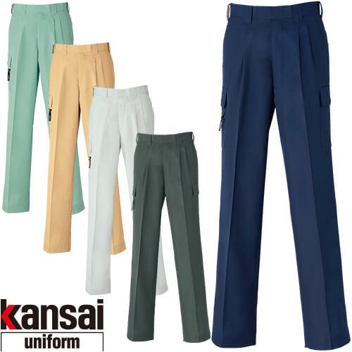 kansai uniform カンサイユニフォーム K40406 カーゴパンツ 40406 作業着 春夏