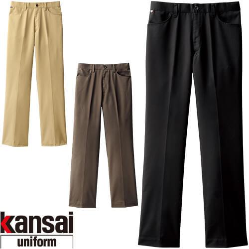 kansai uniform SOFT WORK カンサイユニフォームソフトワーク KS-275 ノータックチノパンツ(メンズ) 00275 作業着 通年 秋冬