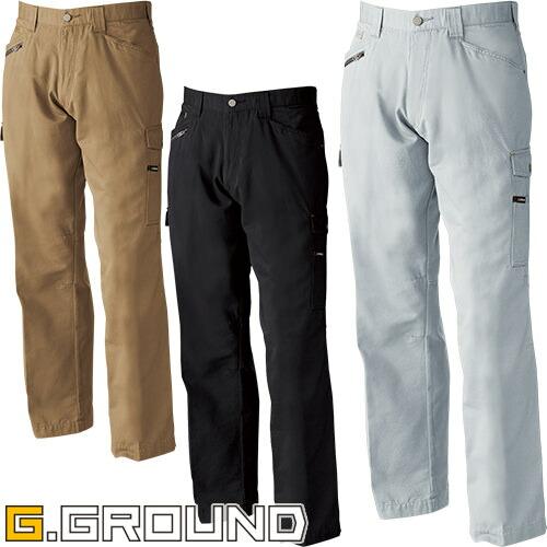 G.GROUND ワイドカーゴパンツ 5110 作業着 通年 秋冬