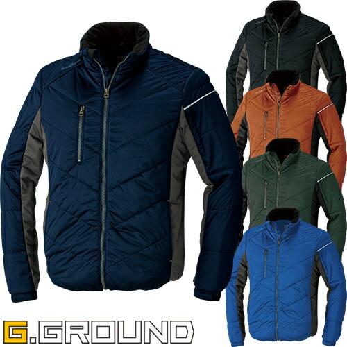 G.GROUND 防寒ブルゾン 44603 作業着 防寒 作業服