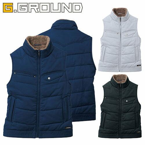 G.GROUND 防寒ベスト 5506 作業着 防寒 作業服