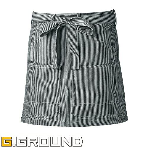 G.GROUND ショートエプロン 腰巻き 10120
