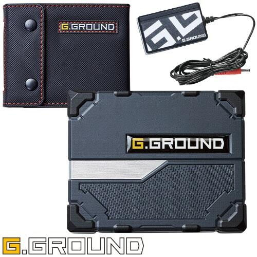 G.GROUND バッテリーセット 16002 作業着 作業服 春夏