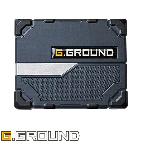 G.GROUND バッテリー 16005 作業着 作業服 春夏
