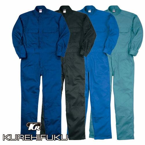 長袖ジャンプスーツ 112 作業着 通年 秋冬 オーバーオール