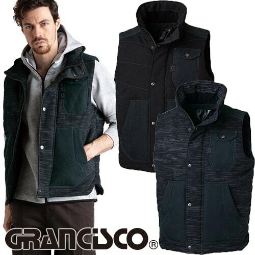 GRANCISCO グランシスコ 防寒ベスト GC-5105 作業着 防寒 作業服