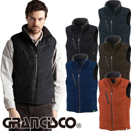 GRANCISCO グランシスコ 防寒ベスト GC-5101 作業着 防寒 作業服