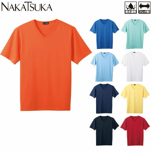 VネックTシャツ 2007 半袖Tシャツ