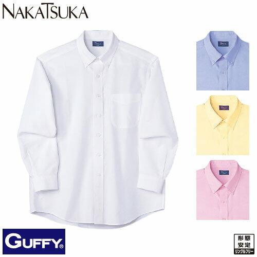 長袖シャツ GU2101 作業着 通年 秋冬