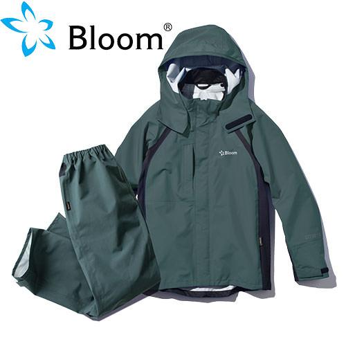 Bloomウェア(ジャケット・パンツセット) セージグリーン NO5 小雨 対策