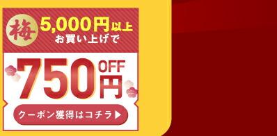 750円OFFクーポン
