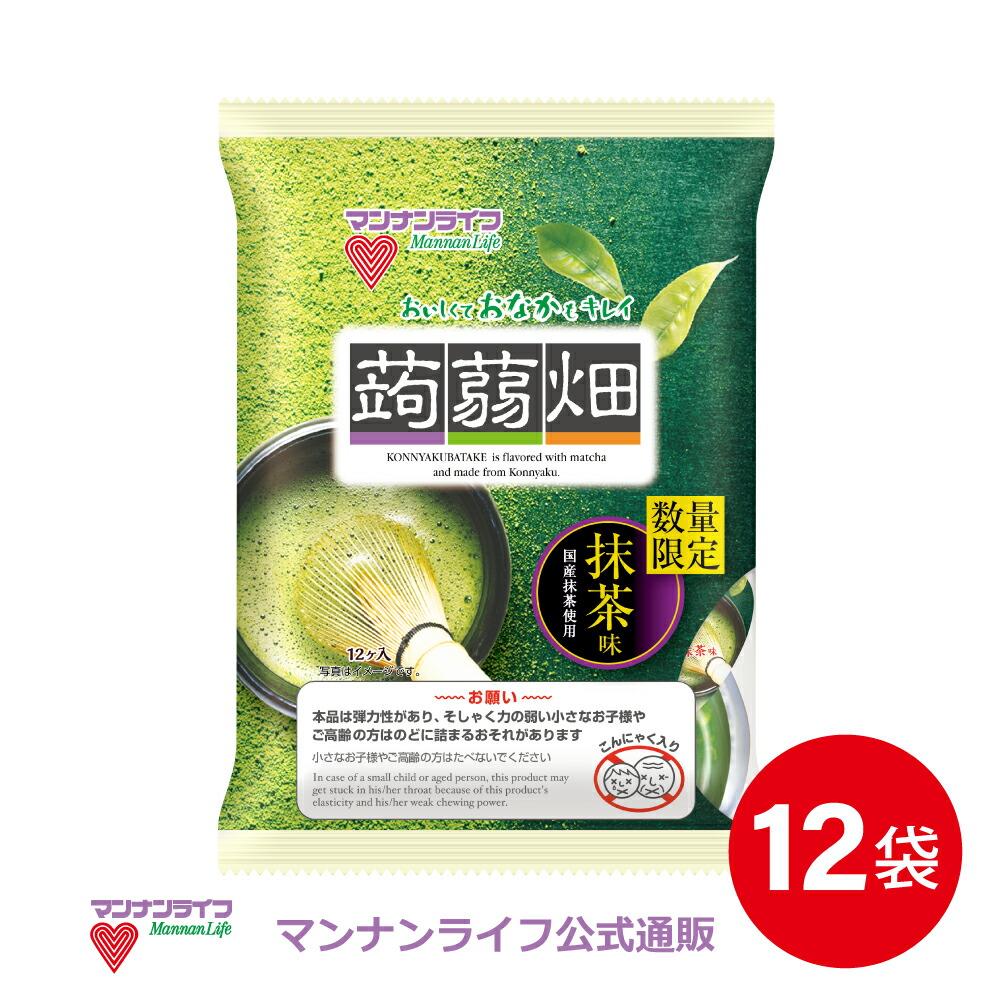 蒟蒻畑抹茶味12袋