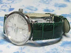 時計ベルトをモレラートのルイジアナに交換したJAEGER-LE COULTRE Master Date