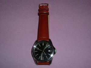 時計ベルトをモレラートのドナテロに交換したグランドセイコー