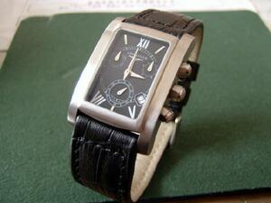 時計ベルトをモレラートのボテロに交換したロンジンドルチェ