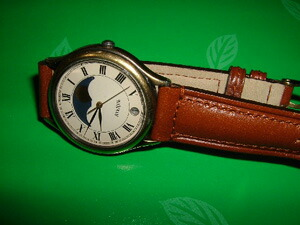 時計ベルトをモレラートのドナテロに交換したSEIKO AVENUE